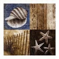 """Seaside Memories II by Keith Mallett - 28"""" x 28"""""""