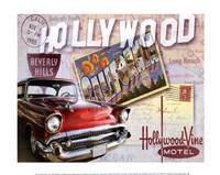 "Road Trip I by Keith Mallett - 12"" x 10"", FulcrumGallery.com brand"