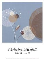 "Blue Breeze II by Christina Mitchell - 12"" x 16"""