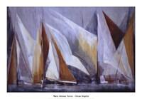 Ocean Regatta Framed Print