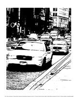 """New York Minute II by Boyce Watt - 10"""" x 12"""""""