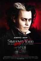 Sweeney Todd Johnny Depp Fine Art Print