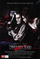 Sweeney Todd Never Forget Never Forgive Fine Art Print