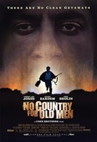"""No Country For Old Men No Clean Getaways - 11"""" x 17"""""""