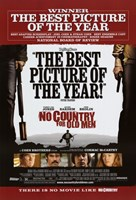 """No Country For Old Men Best Picture of the Year - 11"""" x 17"""""""