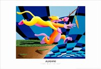 """Anthony Ausgang - The Way To Go - 17"""" x 11"""""""