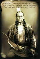 """Bury My Heart at Wounded Knee - native american - 11"""" x 17"""""""