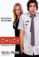 """Chuck Secret Agent Horizontal - 11"""" x 17"""", FulcrumGallery.com brand"""