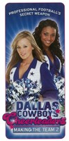 Dallas Cowboys Cheerleaders Making the Team 2 Fine Art Print