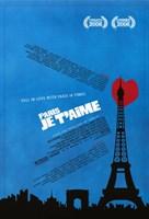 """Paris Je T'aime - 11"""" x 17"""""""