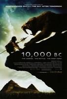 "10,000 B.C. - poster - 11"" x 17"" - $15.49"