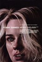 """Funny Games - woman crying - 11"""" x 17"""""""
