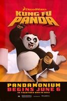 Kung Fu Panda Pandamonium Fine Art Print