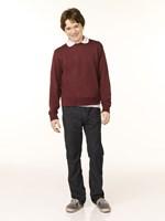 "Aliens in America - boy in a red sweater - 11"" x 17"" - $15.49"