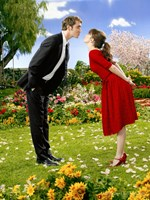 Pushing Daisies Ned and Charolette Framed Print