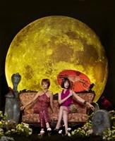 """Pushing Daisies Vivian and Lily Moon - 11"""" x 17"""""""