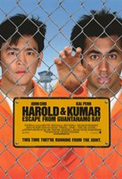"Harold and Kumar: Escape from Guantanamo Bay - 11"" x 17"""