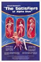 "Satisfiers of Alpha Blue - 11"" x 17"""