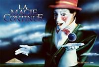 """Cirque du Soleil - Le Magie Continue, 1986, 1986 - 17"""" x 11"""""""