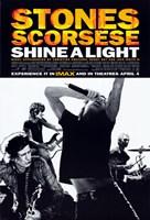 "Shine A Light - band - 11"" x 17"""
