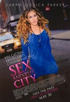 Sex and The City: The Movie - Sarah Jessica Parker Fine Art Print