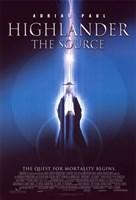 "Highlander: The Source - 11"" x 17"" - $15.49"