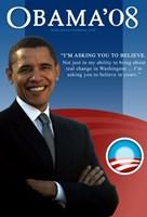 """Barack Obama - I'm Asking You - 11"""" x 17"""""""