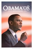 Barack Obama - (Speech) Campaign Poster Wall Poster