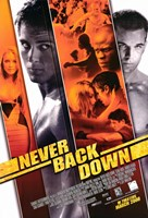 """Never Back Down - 11"""" x 17"""""""