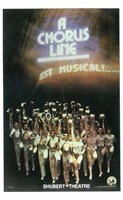 A Chorus Line (Broadway) Fine Art Print