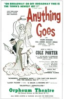"""Anything Goes (Broadway) - 11"""" x 17"""""""