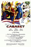 "Cabaret (Broadway) Colorful - 11"" x 17"""