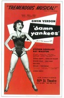 Damn Yankees (Broadway) Fine Art Print
