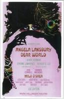 "Dear world (Broadway) - 11"" x 17"""