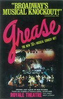 """Grease (Broadway) - 11"""" x 17"""" - $15.49"""