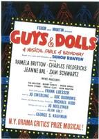 "Guys and Dolls (Broadway) - 11"" x 17"""