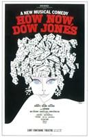"""How Now Dow Jones (Broadway) - 11"""" x 17"""""""