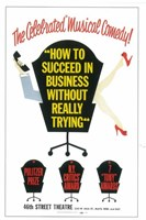 """How to Succeed In Business Without Really Trying (Broadway) - 11"""" x 17"""""""