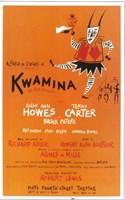 """Kwamina (Broadway) - 11"""" x 17"""" - $15.49"""