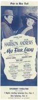 "My Fair Lady (Broadway) - 11"" x 17"""