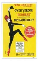 """Redhead (Broadway) - 11"""" x 17"""""""