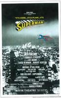 Superman (Broadway) Fine Art Print