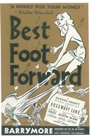 "Best Foot Forward (Broadway) - 11"" x 17"", FulcrumGallery.com brand"