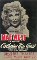 "Catherine Was Great (Broadway) - 11"" x 17"", FulcrumGallery.com brand"