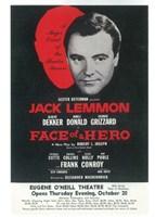"Face Of A Hero (Broadway) - 11"" x 17"", FulcrumGallery.com brand"