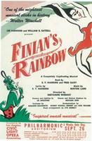 "Finian's Rainbow (Broadway) - 11"" x 17"""