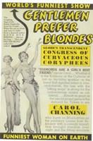"""Gentlemen Prefer Blondes (Broadway) - 11"""" x 17"""""""