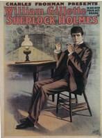 "Sherlock Holmes (Broadway) - 11"" x 17"""
