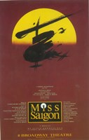 Miss Saigon (Broadway) Fine Art Print