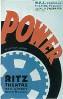 """Power (Broadway) - 11"""" x 17"""""""